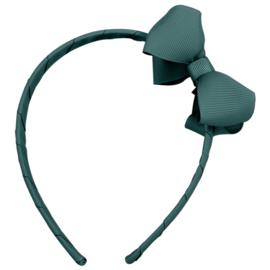 Milledeux - Haarband - Donker groen