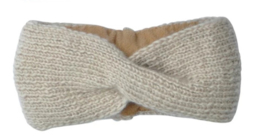 Turban headband - Beige