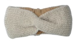 Hats over heels - Turban headband - Beige
