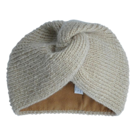 Turban hat - Beige