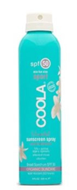 eco - luxe body unscented spray spf 50