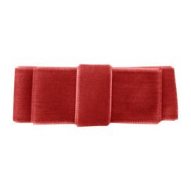 Milledeux velvet - Rood 3