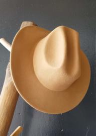 Fedora hat - Camel