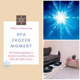 Spa frozen moment 'kadobon'