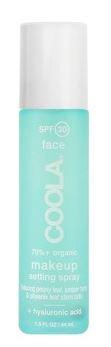 make-up setting spray spf 30