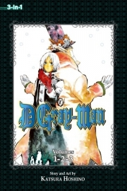 D.Gray-man (3-in-1 Edition), Volume 1