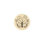 Vlindertje 8 stippen 13 mm