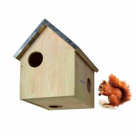 Nest box squirrel zinc roof