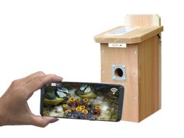 Nestkast met WIFI-camerasysteem