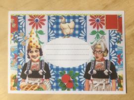 Enveloppe Ik hou van Holland, mét of zonder bijzondere kaart en sluitzegel