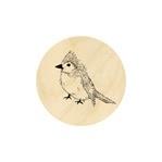 Knappe vogel 19 mm
