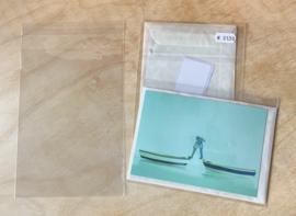 100 Doorzichtige Hoogglans inpakzakjes met sluit strip 13 x 18,2 x 3,5 CM