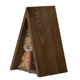 Driehoekig insectenhotel