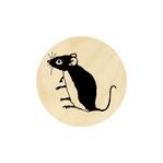 Zittende muis 19 mm