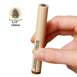 Tannenzapfen, offen 13 mm