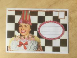 Enveloppe feest mét of zonder bijzondere kaart en sluitzegel