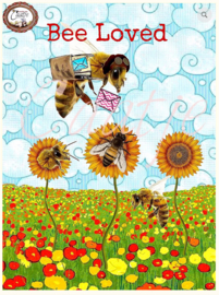 CT 222 ansichtkaart, Bee Loved
