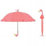 Flamingo paraplu mét roesjes