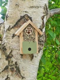Solitaire bijen- en insectenhotel