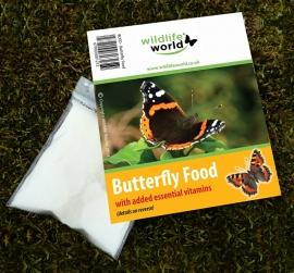 Vlinderlokstof ,Vlindervoer