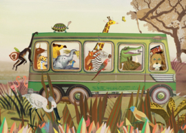 Op safari Afrika