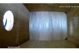 Nestkast met IP-camerasysteem HD kwaliteit