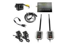 'Draadloze' AHD Camera Kit