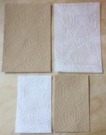 SPINNENWEB 10 Pergamijn enveloppen of bruine loonzakjes