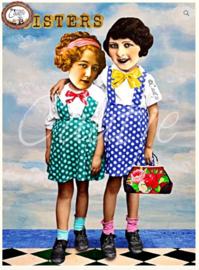 CT 82 ansichtkaart Sisters