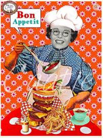 CT 216 ansichtkaart, Bon Appetit