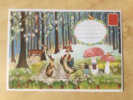 Enveloppe Sprookjesbos, mét of zonder bijzondere kaart en sluitzegel