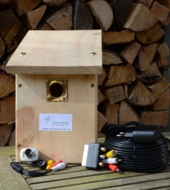 Colour and Infrared Camera Nest Box, simple