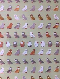 Vogelstickertjes mini