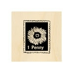 Penny Postage Stamp 25 mm