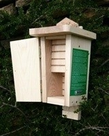 Bat box, dubble chamber