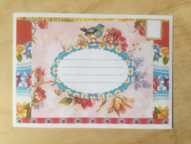 Enveloppe vogeltje mét of zonder bijzondere kaart en sluitzegel