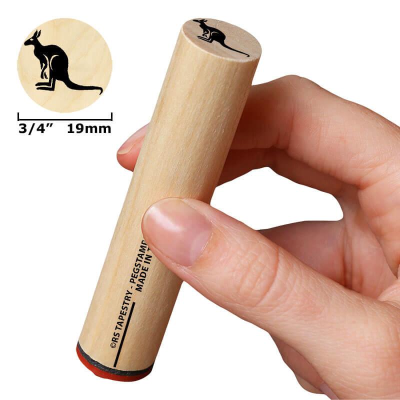 Staande kangoeroe 19 mm