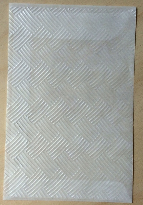 WEEFPATROON 10 Pergamijn enveloppen of bruine loonzakjes