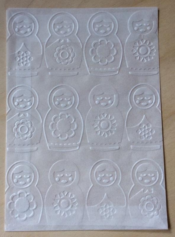 BABOESJKA 10 Pergamijn enveloppen of bruine loonzakjes