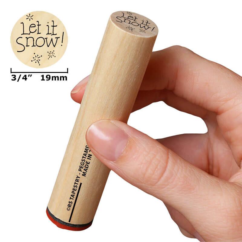 Let it snow 19 mm