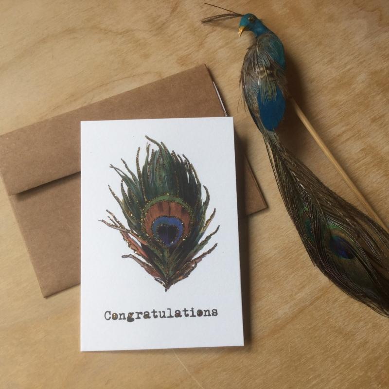 Wenskaart: Congratulations