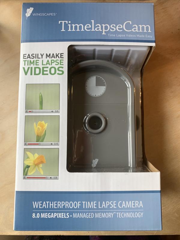 Weerbestendige time-lapse-camera 8.0 megapixels