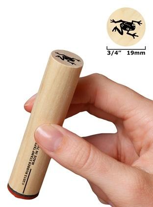 Kruipend kikkertje groot 19 mm
