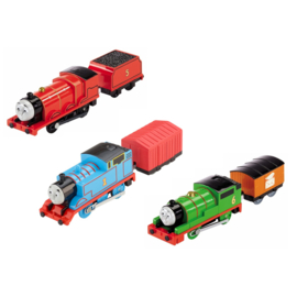 Thomas, Percy en James Trackmaster