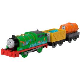 Percy met Tanker Trackmaster