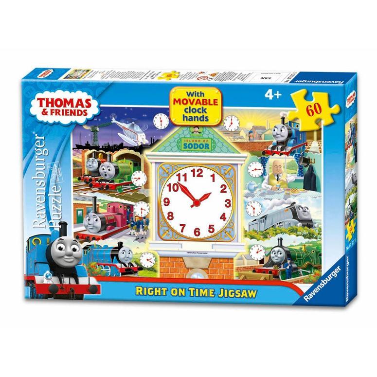 Puzzel Klokkijken - 60 stukjes