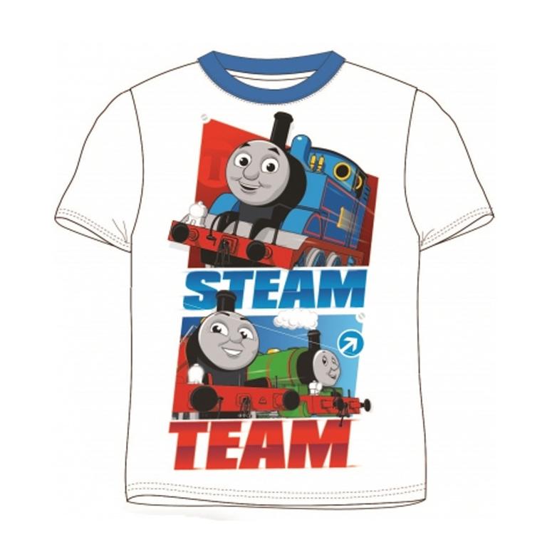 T-shirt Steam Team wit