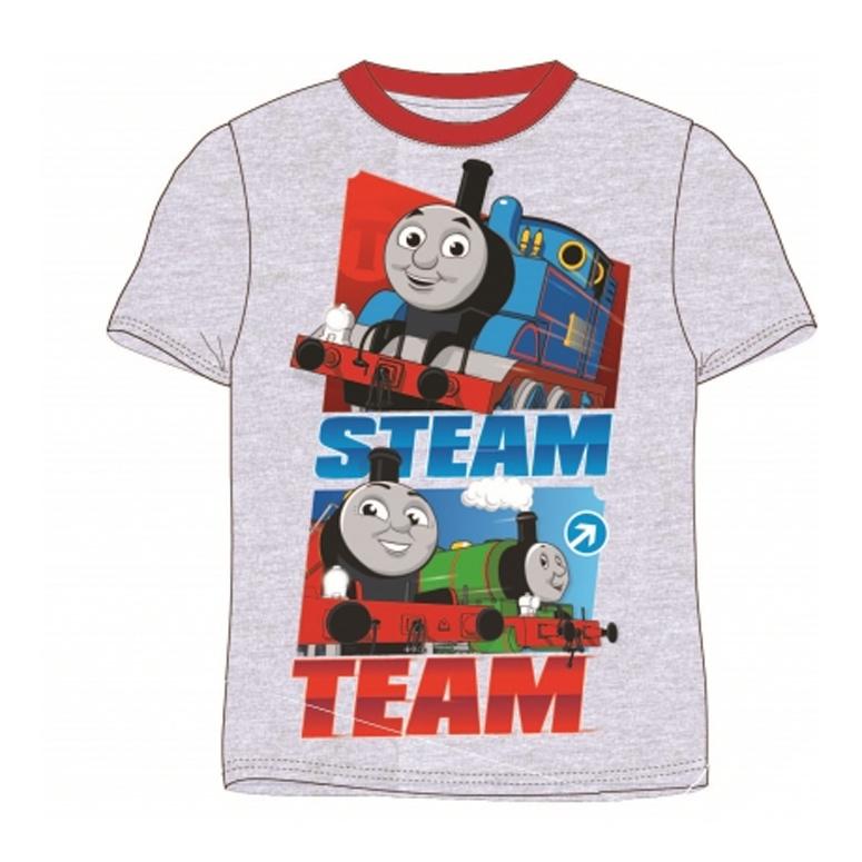 T-shirt Steam Team grijs
