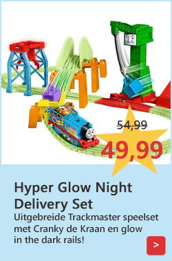 Hyper Glow Night Delivery Set Trackmaster