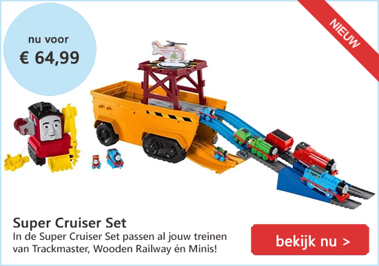 Super Cruiser Set Thomas de Trein